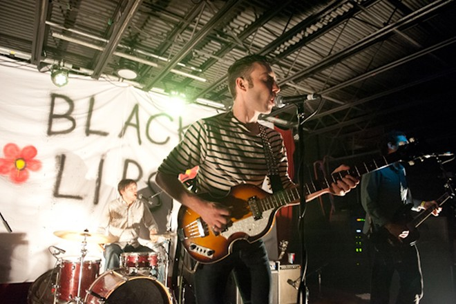 Black Lips, performing at the Firebird in 2014. - JON GITCHOFF