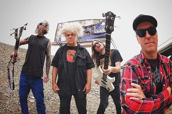 Melvins will perform at the Ready Room on Friday, September 27. - VIA SPEAKEASY PR