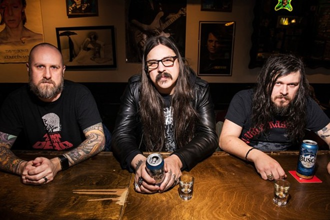 Fister is, without a doubt, one of St. Louis' heaviest bands, and its new album pays tribute to the artists that inspired it. - COREY WOODRUFF