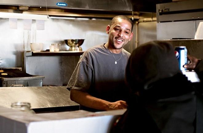 AnthonyEllerson Jr., chef-owner of The Kitchen Sink. - JENNIFER SILVERBERG