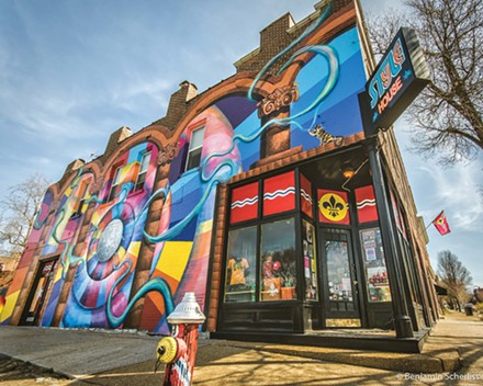 Get the people on your list the gift of city pride at STL Style House. - BEN SCHERLISS