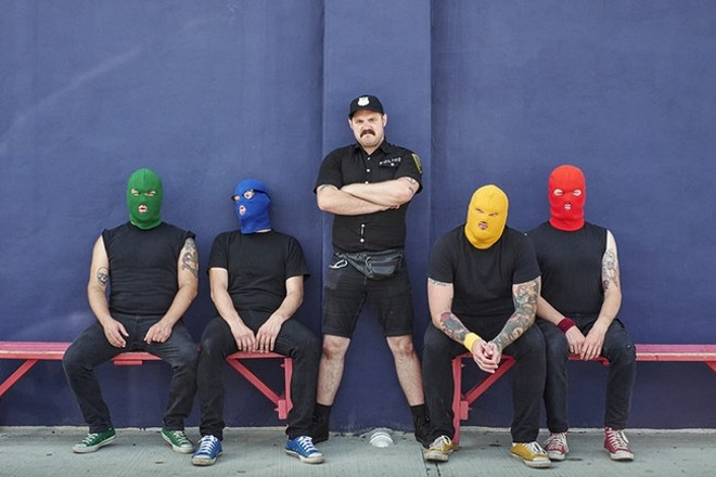 Masked Intruder will perform at Off Broadway on Wednesday, October 16. - VIA DESTINY TOURBOOKING
