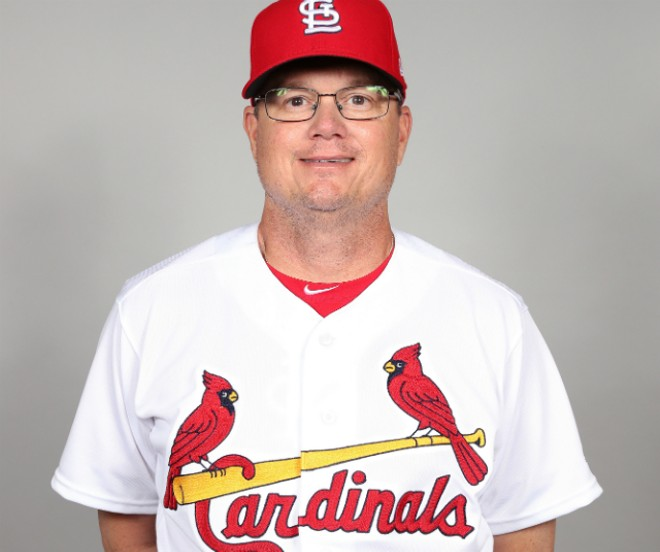 Fucking Mike Shildt. Seriously. - COURTESY ST. LOUIS CARDINALS/MLB