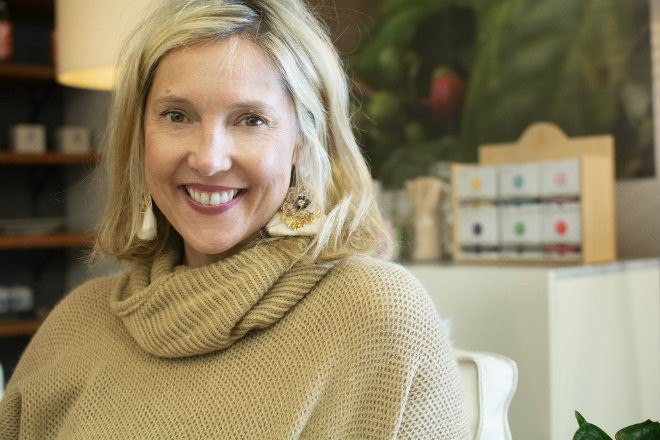 Tricia Zimmer Ferguson combines her passion for business and coffee at Kaldi's Coffee. - ANDY PAULISSEN
