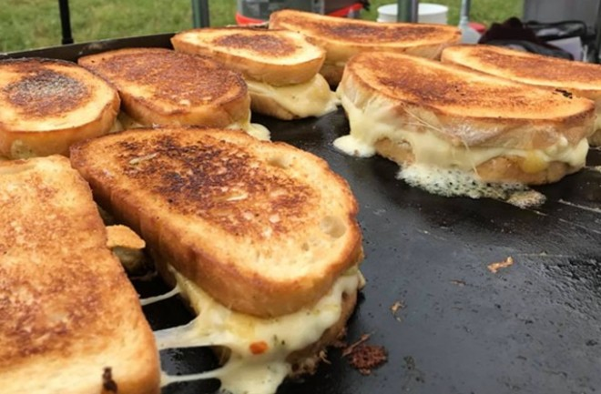 How many grilled cheese sandwiches can you eat in one afternoon? - COURTESY GREAT GRILLED CHEESE OFF