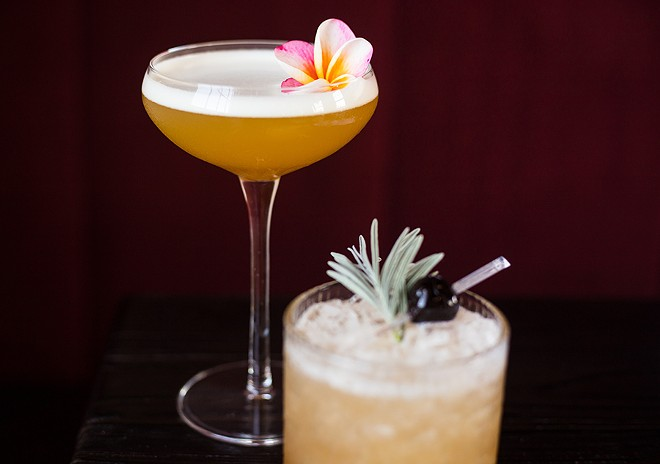 Two must-try cocktails at the Bellwether include the Siddhartha and 2666. - MABEL SUEN