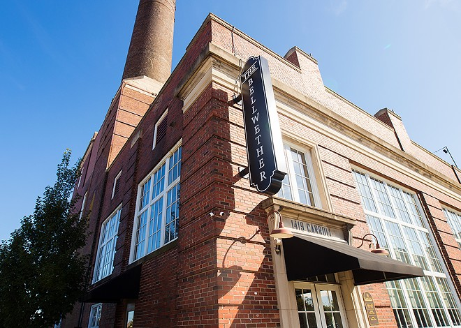 The Bellwether is located in a historic brick building near downtown St. Louis. - MABEL SUEN
