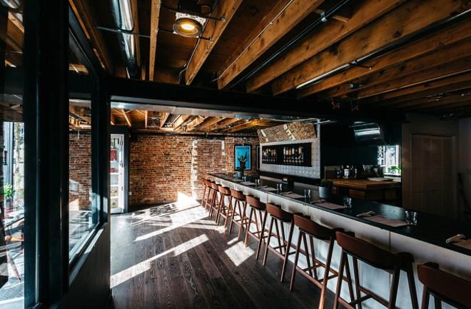 Inside Brennan's Work & Leisure in Midtown. - RJ HARTBECK