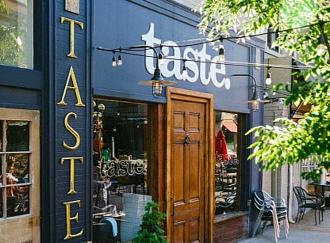 The exterior of Taste in the Central West End. - COURTESY NICHE FOOD GROUP