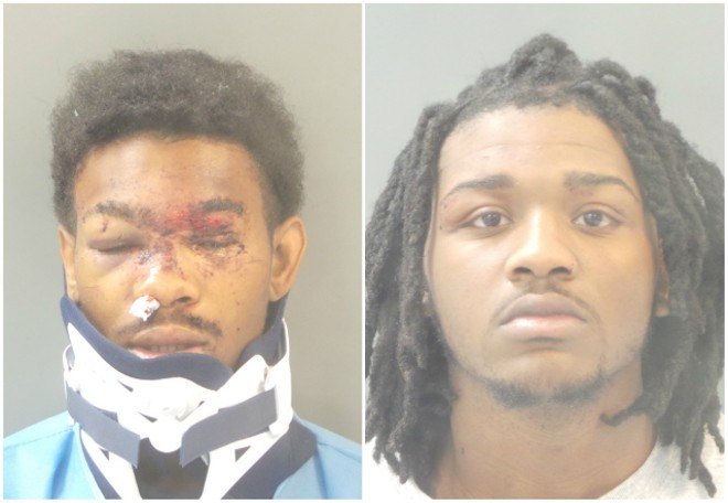 Courtney Clay and Percy Robinson were charged with second-degree murder. - COURTESY ST. LOUIS POLICE