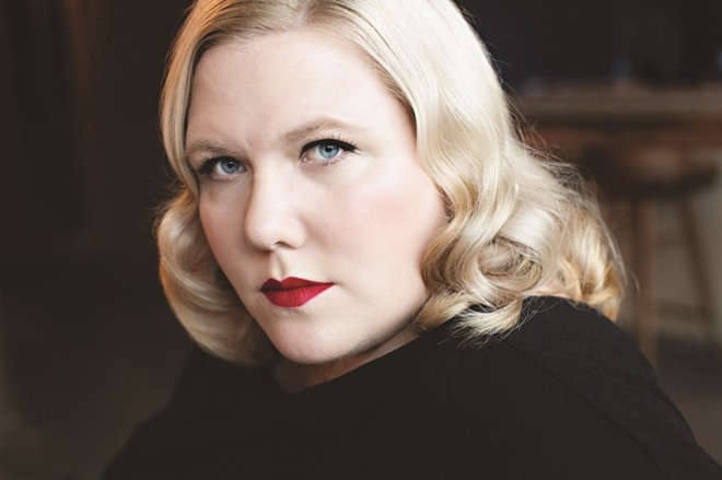 Lindy West discusses her new book The Witches Are Coming on Wednesday. - JENNY JIMENEZ