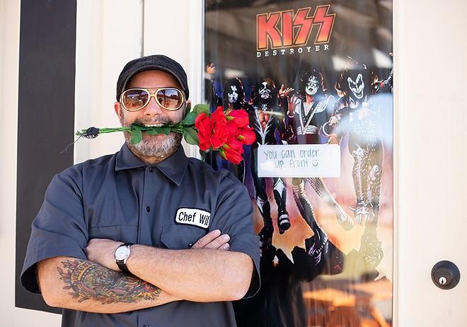 Chef-owner Wil Pelly's customers include rock royalty — and neighborhood regulars. - MABEL SUEN