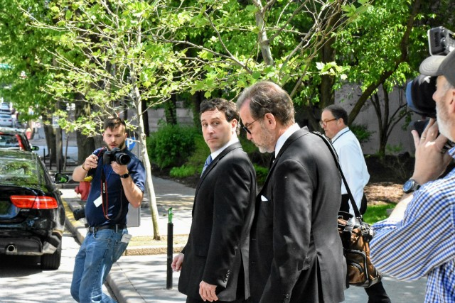 Steve Stenger reminded the media that St. Louis County has scandals, too.