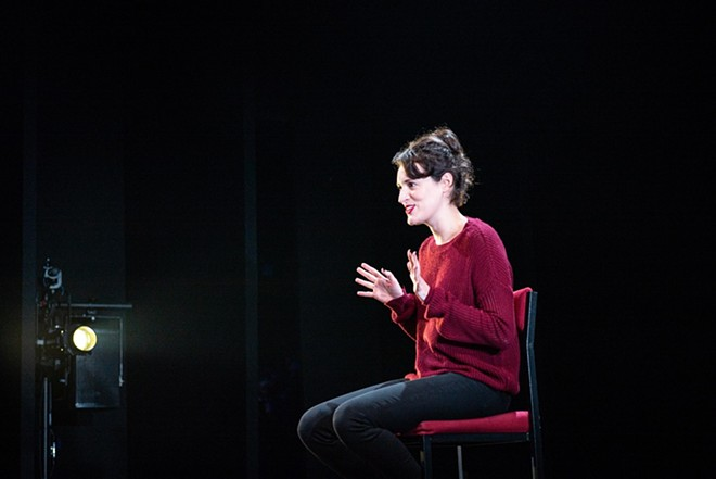 Phoebe Waller-Bridge in her original one-woman show Fleabag, which is screened nationwide on Monday. - MATT HUMPHREY