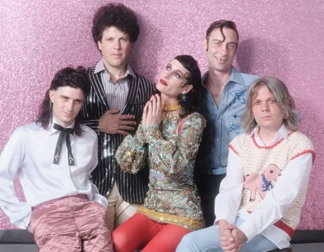 Black Lips will perform at the Duck Room on Tuesday, March 10. - VIA PARADIGM TALENT AGENCY