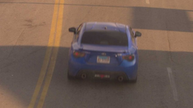 This car is believed to have been used in a violent kidnapping. - COURTESY ST. LOUIS POLICE