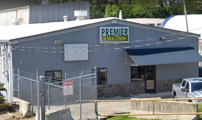 Premier Demolition is one of four companies suing St. Louis over its minority contractor status. - SCREENSHOT VIA GOOGLE