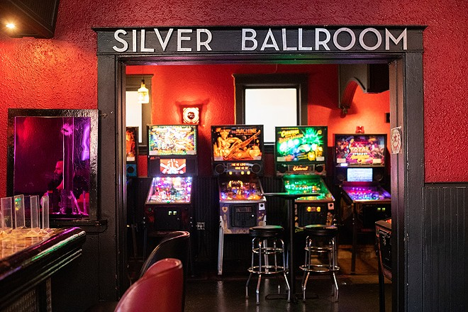 The counter-service eatery is located inside pinball bar the Silver Ballroom. - MABEL SUEN