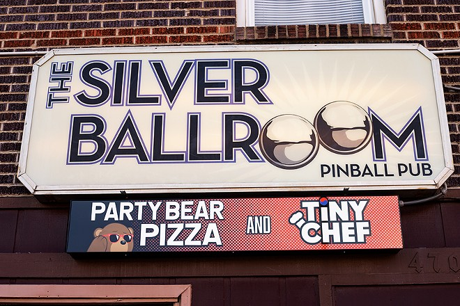 Located in Bevo, the Silver Ballroom is now home to the best bar food in St. Louis. - MABEL SUEN