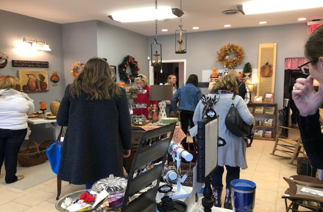 The shop will be open on Small Business Saturday (November 30) from 10 a.m. to 3 p.m. - COURTESY PRINCETON HEIGHTS MARKETPLACE