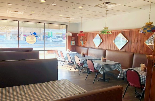 Another view of the Original J's dining room. - LIZ MILLER