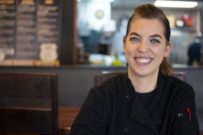 Sierra Eaves is the chef de cuisine of Guerrilla Street Food on Arsenal Street. - ANDY PAULISSEN