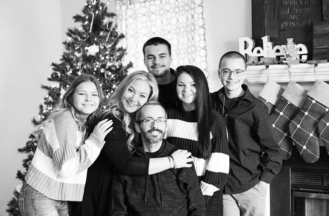 The Johannes family. - COURTESY ALECIA JOHANNES