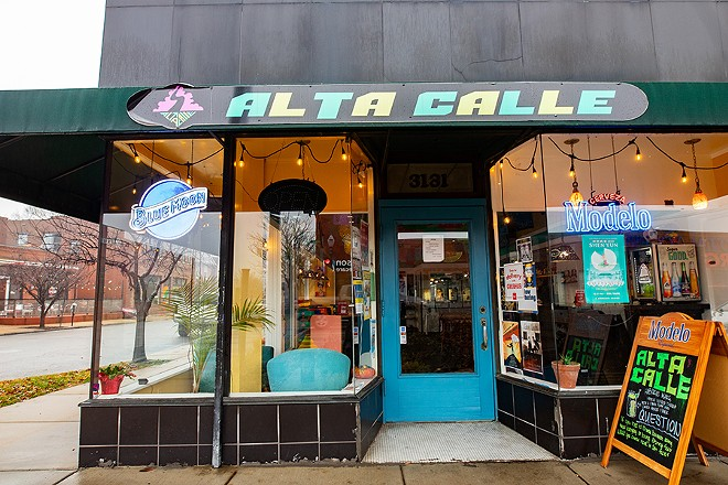 Alta Calle is located on South Grand Boulevard. - MABEL SUEN
