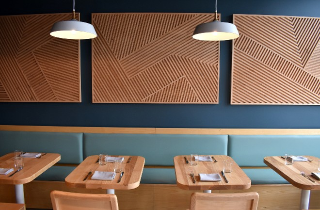 The newly remodeled space is bright, modern and gorgeous. - LIZ MILLER