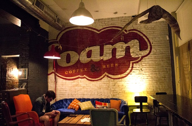 Foam has been a destination for live music, coffee and beer on Cherokee Street for a decade. - MABEL SUEN