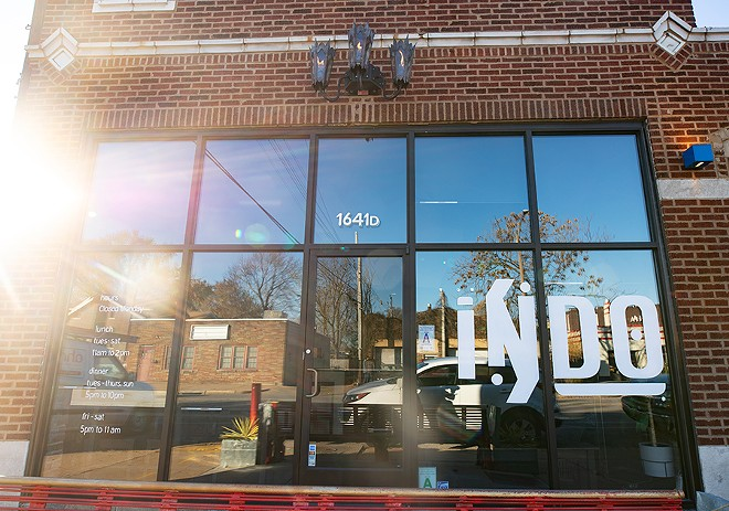 Indo is located in Botanical Heights in the space previously occupied by Good Fortune. - MABEL SUEN
