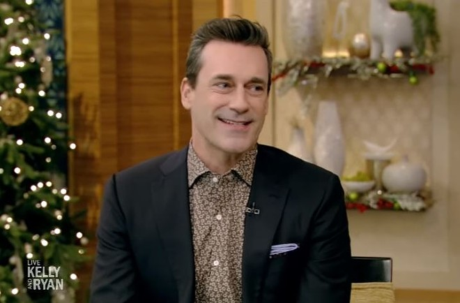Jon Hamm, St. Louis boy made good, knows how to lean into his accent. - SCREENSHOT VIA YOUTUBE