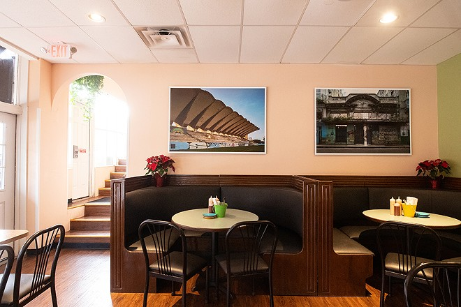 Estrella and her partner, Bradley Payne, revamped the old bar into a fast-casual order counter and refreshed the dining room. - MABEL SUEN