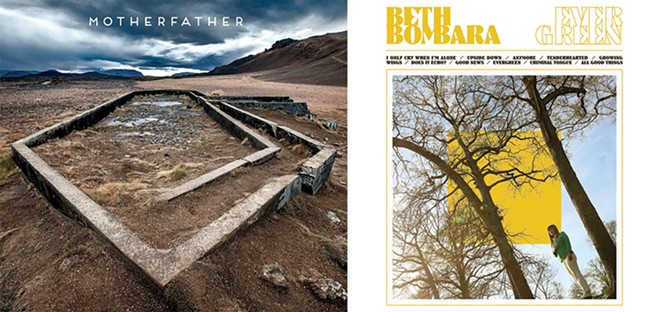 MotherFather's MotherFather and Beth Bombara's Evergreen were two of our favorite albums. - ALBUM ART