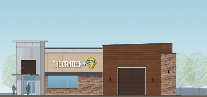 A rendering of the Canteen at 9 Mile Garden. - COURTESY 9 MILE GARDEN