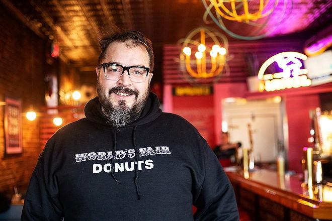 Taco Circus chef-owner Christian Ethridge. - MABEL SUEN