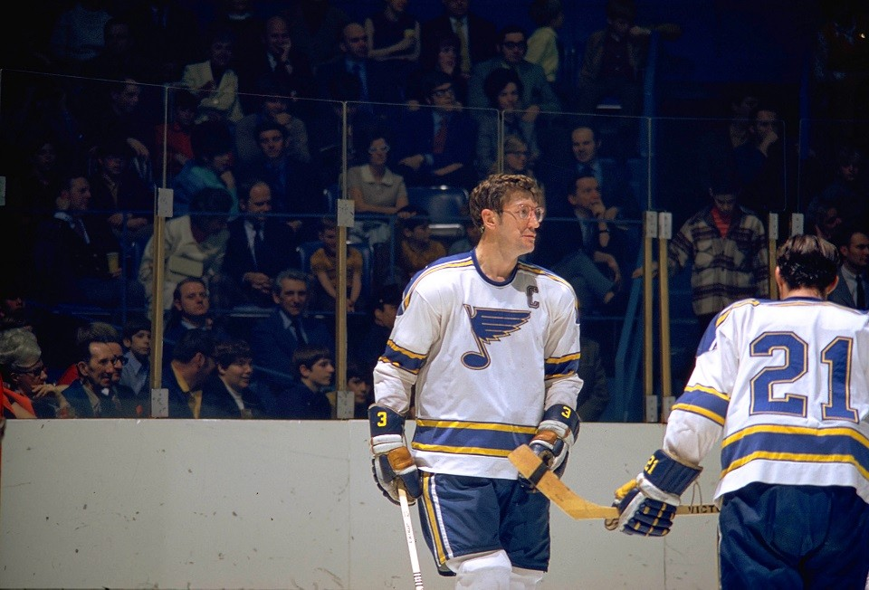Al Arbour was the team's first captain. - COURTESY OF THE ST. LOUIS BLUES