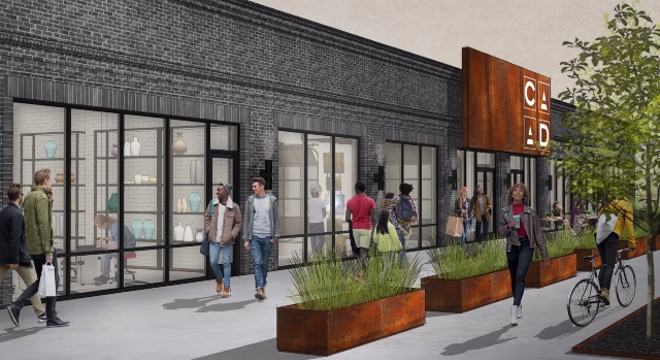 The larger facility will bring all services under one roof. - COURTESY CRAFT ALLIANCE CENTER OF ART + DESIGN