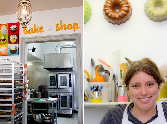 Pastry chef-owner Kaylen Wissinger. - MABEL SUEN