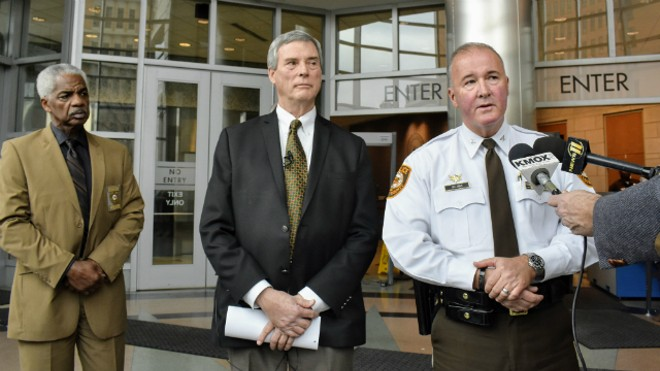 St. Louis County police Chief Jon Belmar plans to retired on April 30. - DOYLE MURPHY