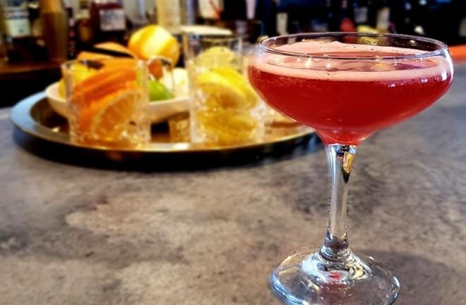 Noto's fully stocked bar specializes in serving Italian-inspired cocktails. - KRISTEN FARRAH