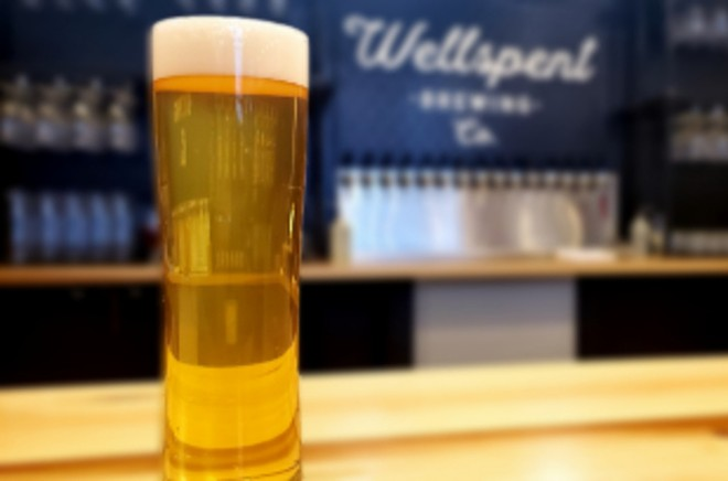 Wellspent uses a special house culture to brew most of its beers. - KRISTEN FARRAH