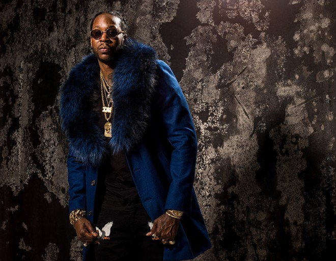 2 Chainz will perform at Pop's Nightclub on Friday, February 28. - VIA DEF JAM PRESS