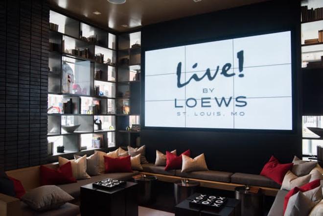 The lounge area at Clark & Bourbon. - TRENTON ALMGREN-DAVIS