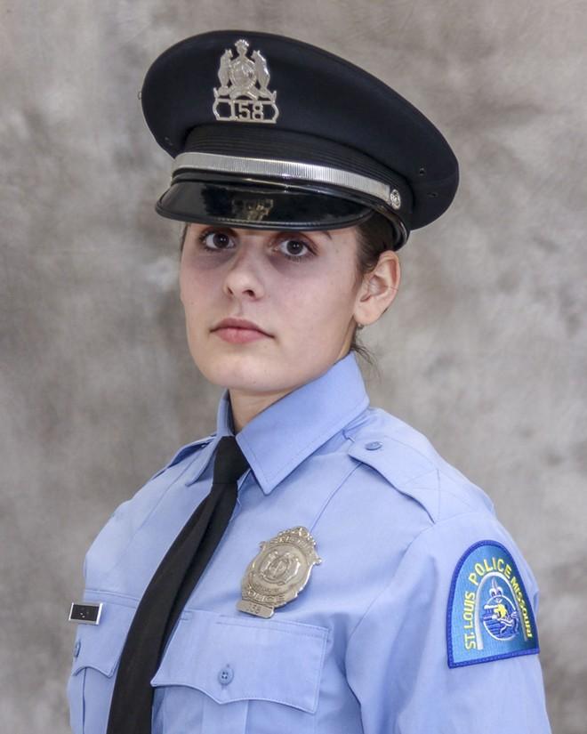 Officer Katlyn Alix was killed in January 2019. - COURTESY SLMPD