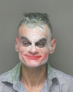 At least he's still smiling. - VIA UNIVERSITY CITY POLICE