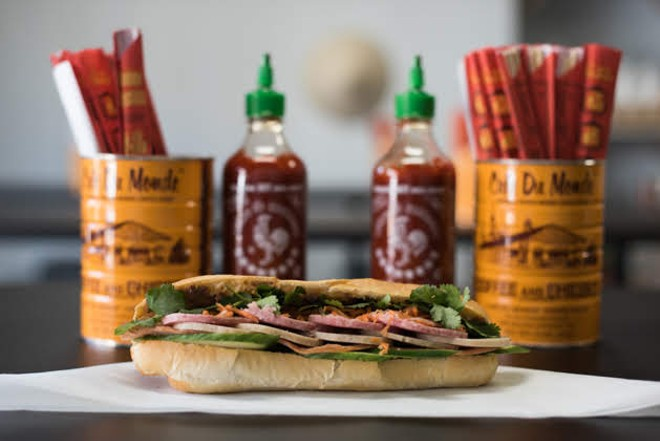 The Saigon Classic sandwich. - TRENTON ALMGREN-DAVIS