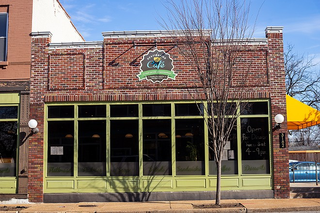 Destination Cafe is located on the corner of Morganford Road and Juniata Street in Tower Grove South. - MABEL SUEN