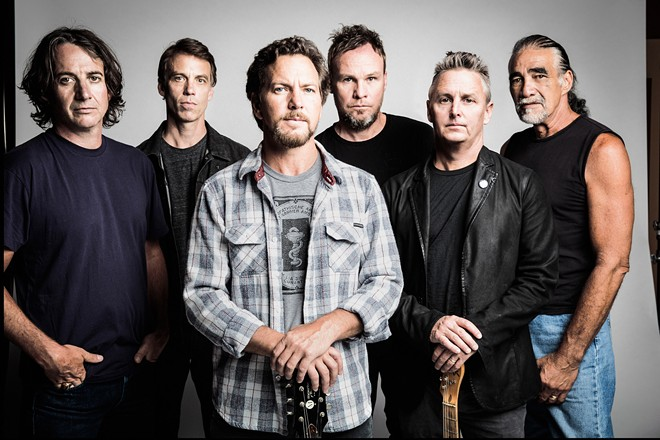 Pearl Jam has canceled its April 4 date in St. Louis due to the coronavirus. - VIA WME AGENCY