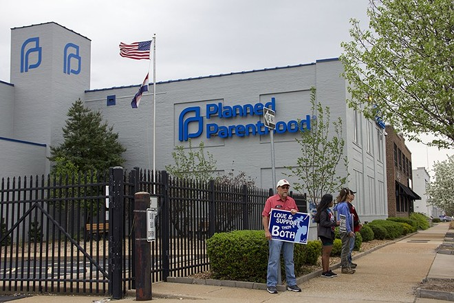 The Planned Parenthood clinic in the CWE, where the number of abortion patients have plummeted. - DANNY WICENTOWSKI